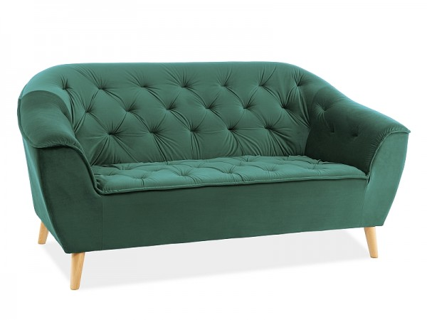 SOFA GALAXY 2 VELVET ZIELONY BLUVEL 78 / BUK