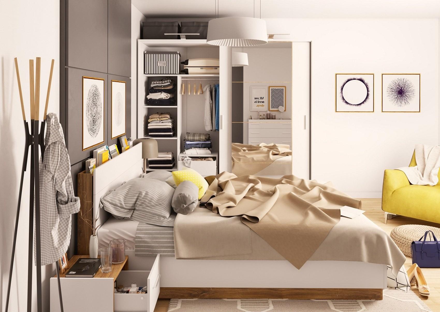 Stylowe łóżko Do Sypialni Dentro Dt 02 140x200