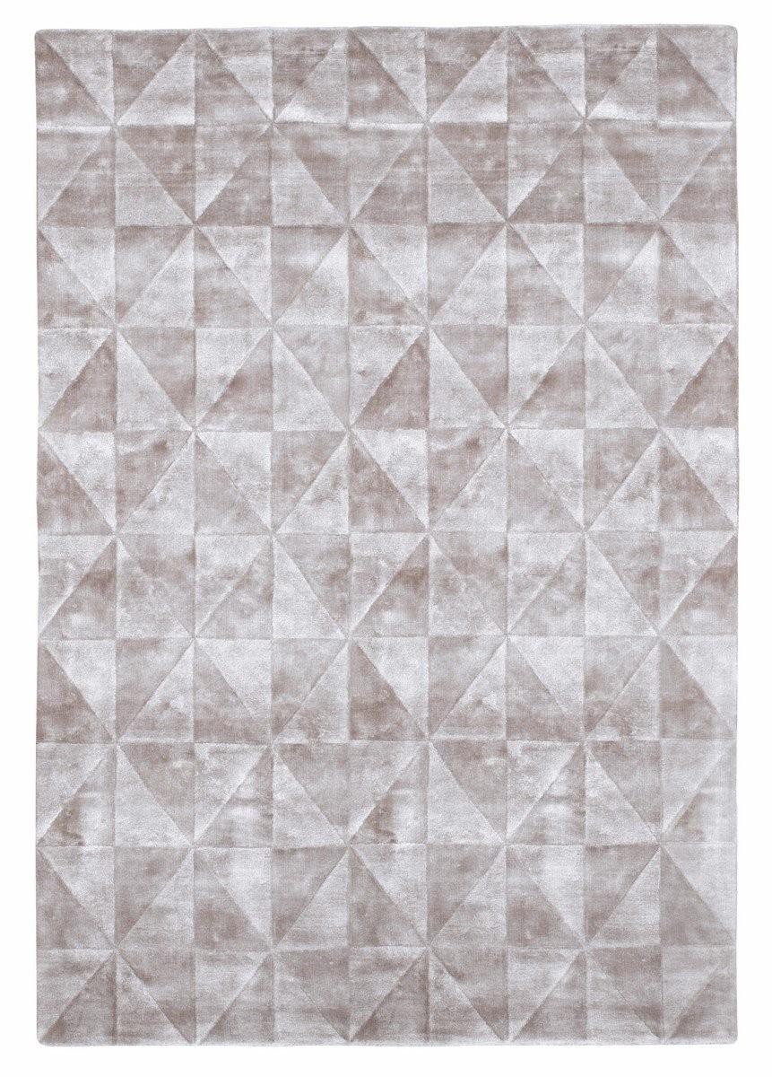 Dywan Ręcznie Tkany Triango Silver 160x230